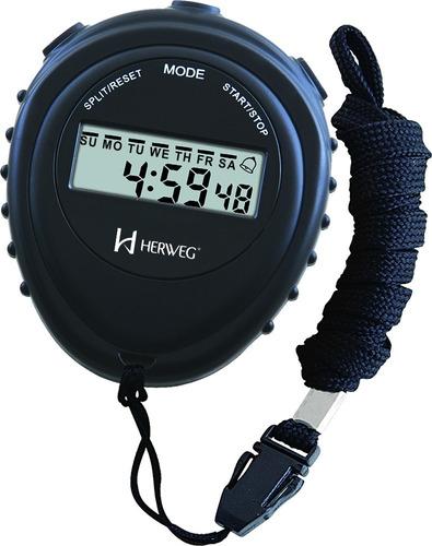 Cronômetro De Mão Digital Pequeno  Herweg 8912-034
