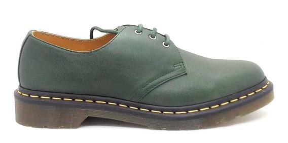 Zapato Dr Martens 1461 Verde Hombre Mujer Unisex Oxford
