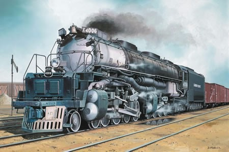 Kit Revell Trem Locomotiva American Big Boy 1/87 - 02165