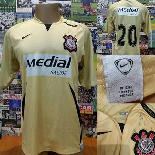 Camisa Corinthians - Nike - 2008 - G