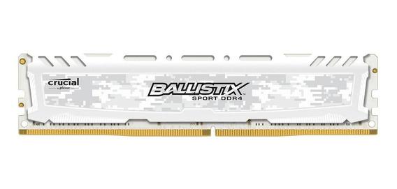 Memória RAM 4GB 1x4GB Crucial BLS4G4D26BFSC