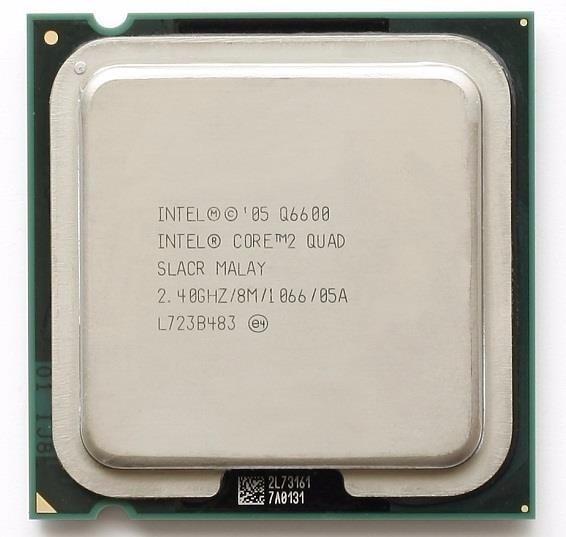 Processador Intel 775 Core 2 Quad Q6600 8mb 2.40ghz 1066fsb