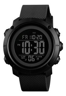 Reloj Hombre Skmei 1426 Cronómetro Alarma Luz Cuenta Regresiva Sumergible Números Grandes