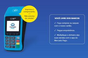 Oferta - Máquina Cartão Point Pro Imprime Comprovante + Chip