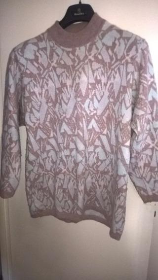 Pullover Mujer Escote Redondo Vittoria Di Romani Poco Uso