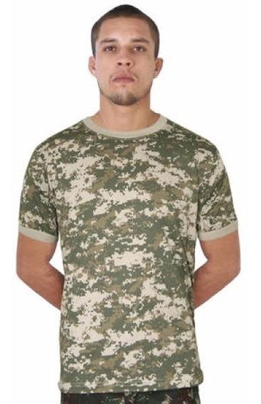 Camiseta Masculina Militar, Exercito, Treme Digital Areia