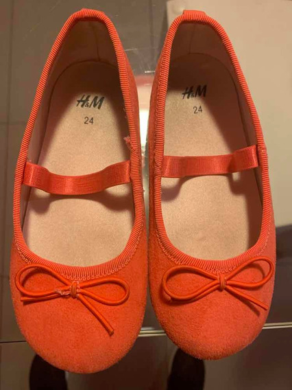 Zapatos H&m Talle 24 Color Coral