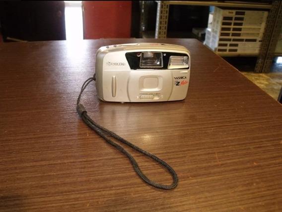 Camera Maquina Fotográfica Yashica Kyocera Ez Mate Antiga