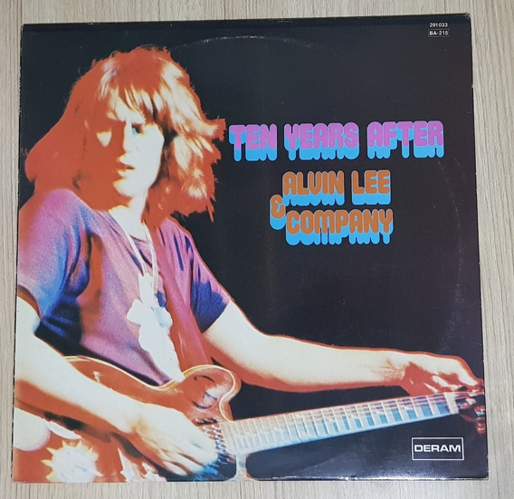 Lp Ten Years After - Alvin Lee & Company 1972
