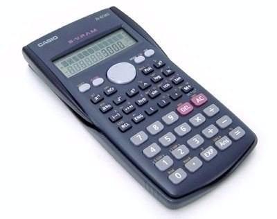 Calculadora Cientifica Casio Fx 82ms 240 Funções Original