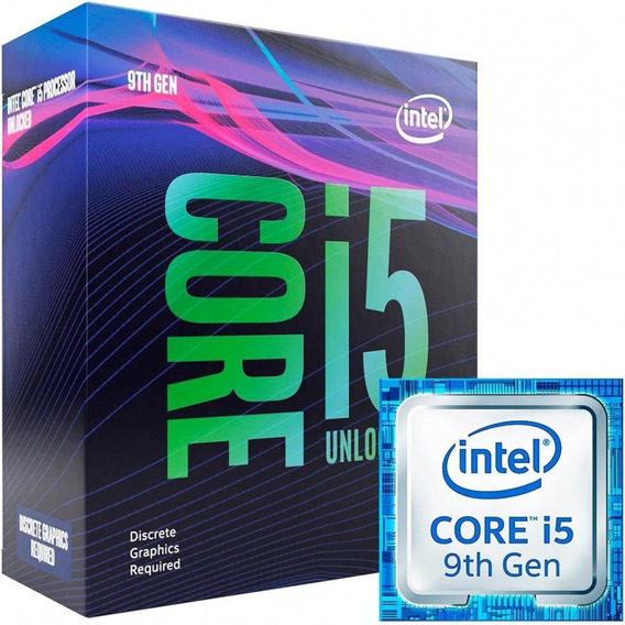 Processador Intel Core I5 9600kf (4.6ghz Turbo) Box Lacrado