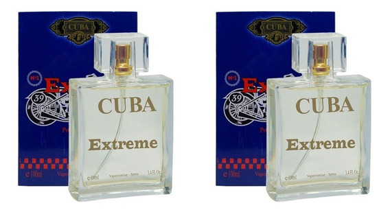 Kit 2 Perfumes Cuba Extreme 2 X 100ml Masculino