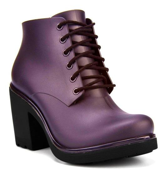 Bota Coturno Ankle Boot Ale Boa Onda By Cherry
