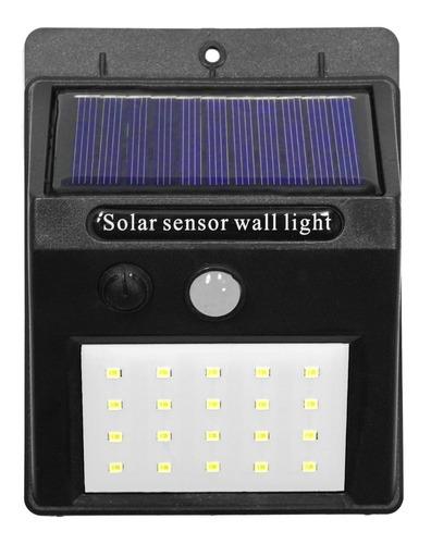 Reflector Solar Led Solarshine  Luz Exterior 20 Leds Sensor