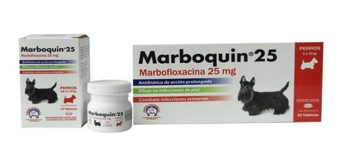 Marboquin 25 Perros Frasco X 10 Tabletas. Efecto Prolongado!