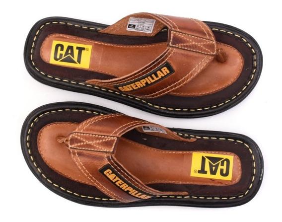 Lançamento Chinelo Masculino Em Couro, Chinelo,sandalia Cat