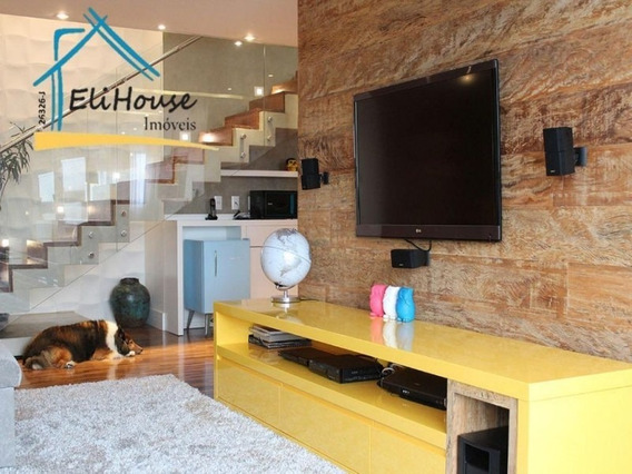 Cobertura Duplex - Oswaldo Cruz - São Cetano Do Sul - Eli House Imóveis - Creci 26326-j - Co0013 - 32700354