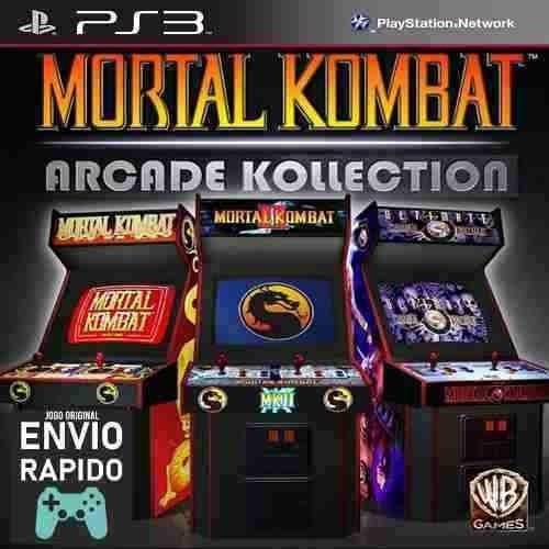 Mortal Kombat Arcade Kollection - Jogos Ps3 Original