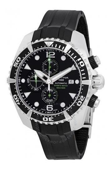 Relógio Suíço Certina Action Diver Cronógrafo Automatico Iso