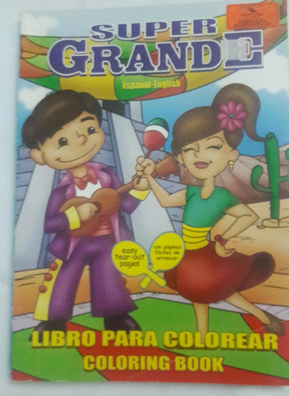 Libro Para Colorear De Grandes Heroes En Mercado Libre México