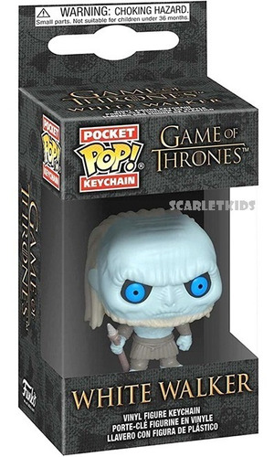 Llavero Pop Game Of Thrones White Walker Pop! Scarlet Kids