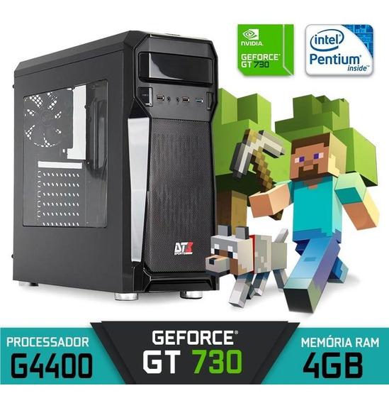 Computador Gamer Axtro Intel G4400 Ram 4gb Gt 730 Hd 500gb