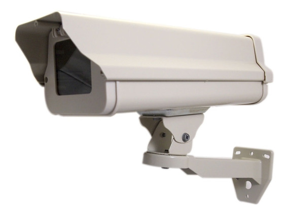 Gabinete Exterior Housing Metálico Cámara Seguridad Cctv