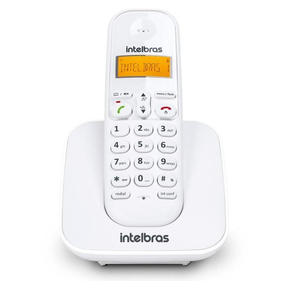 Telefone Sem Fio Intelbras Luminoso Dect 6.0 Ts 3110 Branco