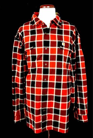 Camisa Carhartt Franela Original Fit 3xl 100% Nueva Unica