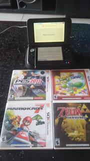 Nintendo 3ds Xl Con Juego Y Memoria
