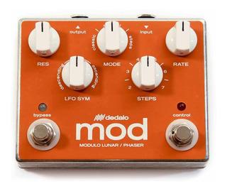 Pedal Efecto Guitarra Dedalo Mod5 Modulo Lunar Phaser Envios