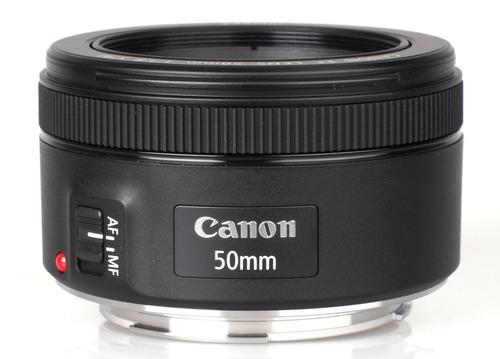 Lente Canon Ef 50mm F/1.8 Stm + Filtro 49mm Uv