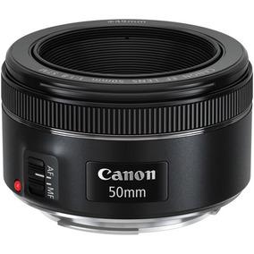 Lente Canon Ef 50mm F/1.8 Stm Com Motor De Auto-foco Lacrada