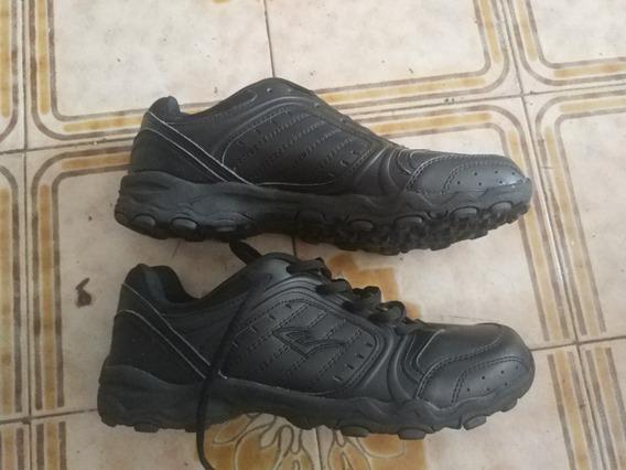Zapatos Everlast Negros Para El Colegio Importados