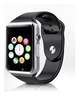 Relogio Inteligente Smartwatch A1 Bluetooth Chip + Brinde