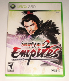 Samurai Warriors 2 Empires Original Completo Xbox 360 Cr $15