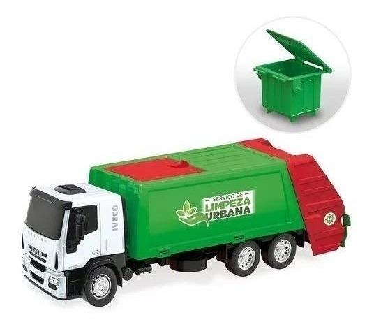 Brinquedo Caminhão Menino Iveco Coletor Lixo Usual Ver Vídeo