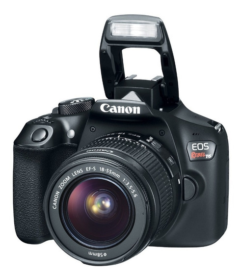 Camara Canon Digital Reflex T6 Kit 18-55 Full Hd Garantia