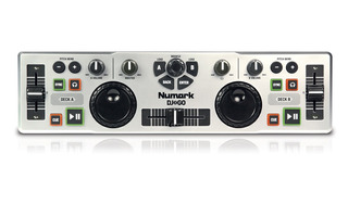 Controlador Usb Dj Mixer Portable Numark Dj2go