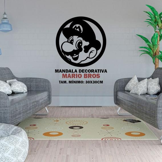 Mandala Decorativa Mario Bros