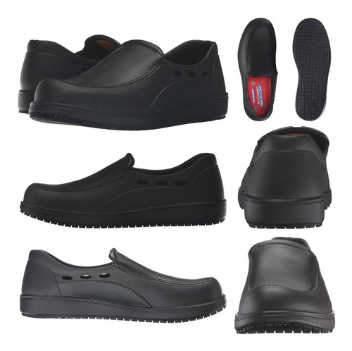 De Para Skechers Hombre Zapatos Trabajo Antideslizante mv0nwON8