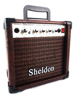 Amplificador Para Violão Sheldon Vl2800 - 15w - Nota Fiscal