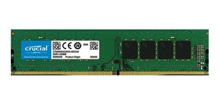 Memoria Ram Ddr4 8gb 2400mhz Single Crucial Ct8g4dfs824a