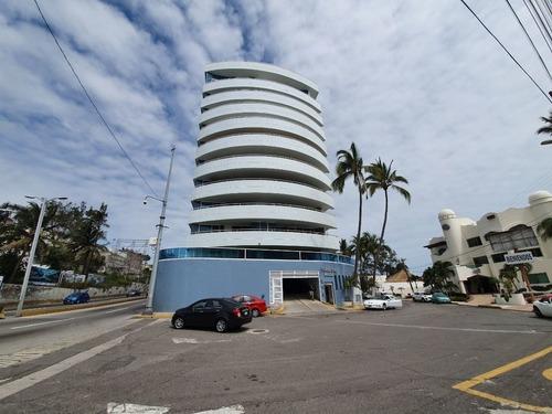 Departamento En Venta Con Vista Al Mar Torre Santa Maria Fracc Mocambo