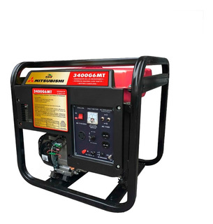 Generador De Luz Mitsubishi 6 Hp 3400 W Envio Gratis