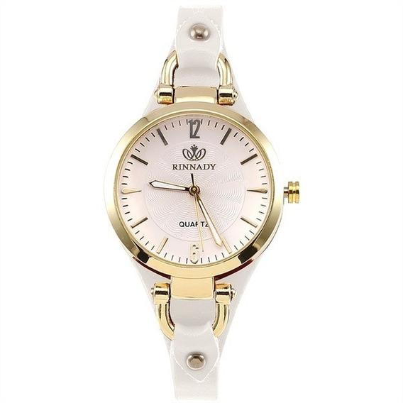 Relógio Feminino Casual Couro Sintético Barato Promoção
