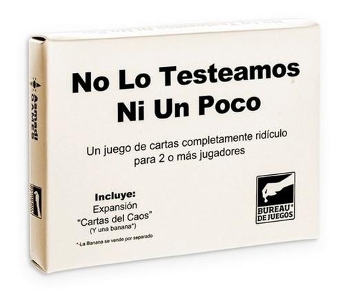 No Lo Testeamos Ni Un Poco - Juego De Cartas - Invictvs