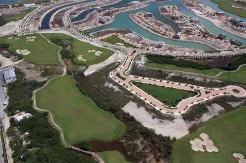 Lote Residencial Vista Campo De Golf En Puerto Cancún