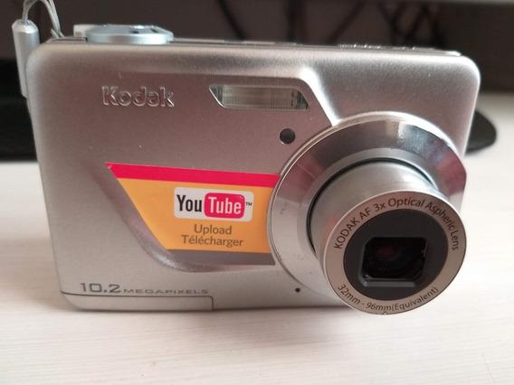 Camara Digital Kodak Easyshare C180 Usada Con Sd Card