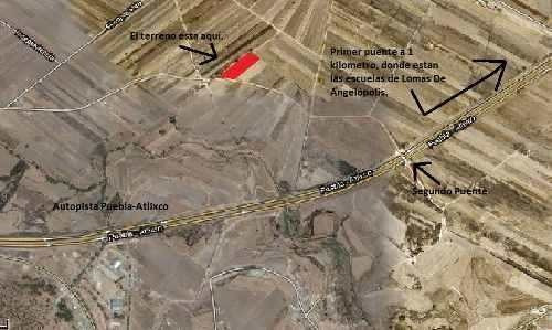 Propiedad 3,000 M2, Cerca De Lomas De Angelopolis. Plusvalía